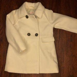 White Pea Coat!